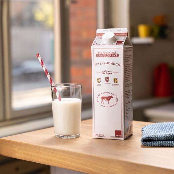 Fettarme Milch 1,5%, Bio