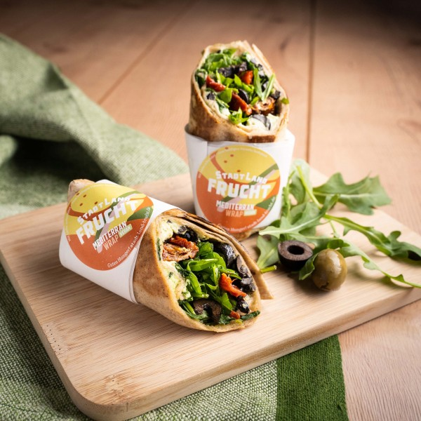 "Wraps ""Mediterran"" (vegan)"