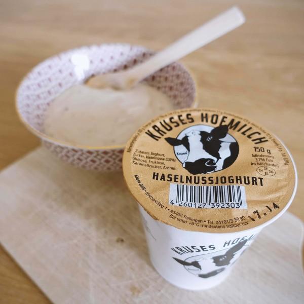 Fruchtjoghurt Haselnuss, 150g Becher