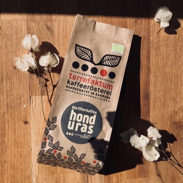 Filterkaffee Honduras (Bio), ganze Bohne