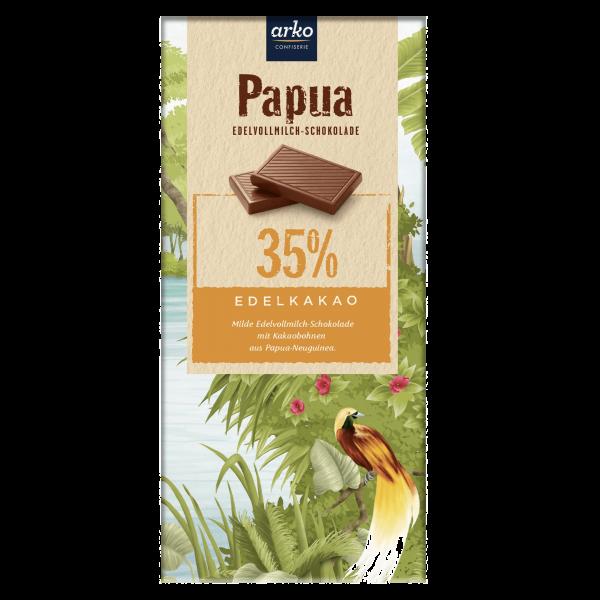 Papua Edelvollmilch-Schokolade