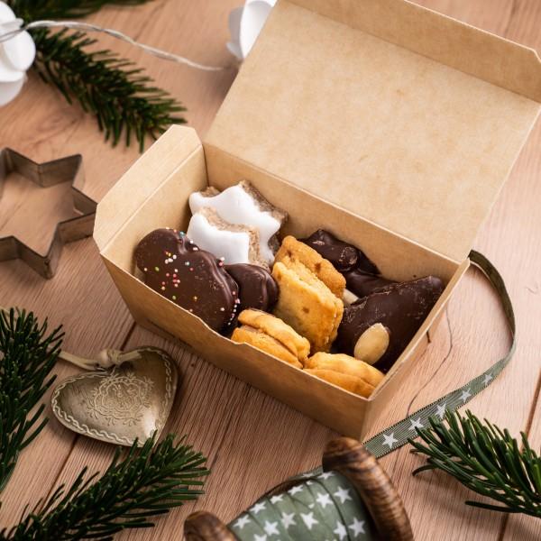 Winter Kekse, kleiner Mix