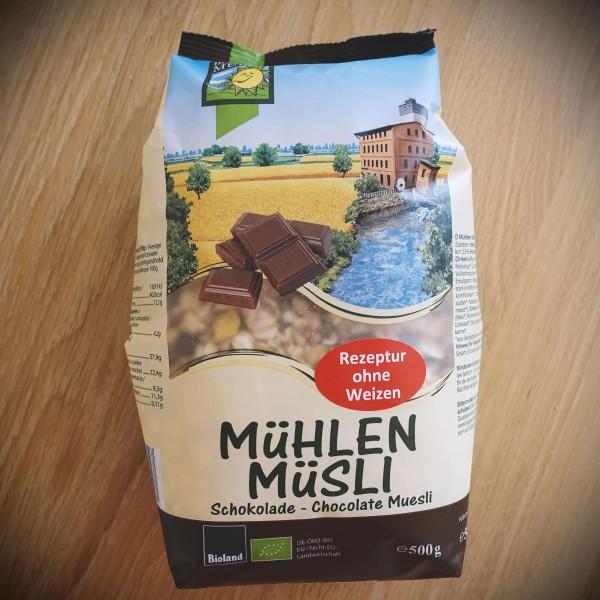Mühlen Müsli Schokolade (Bio), 500g