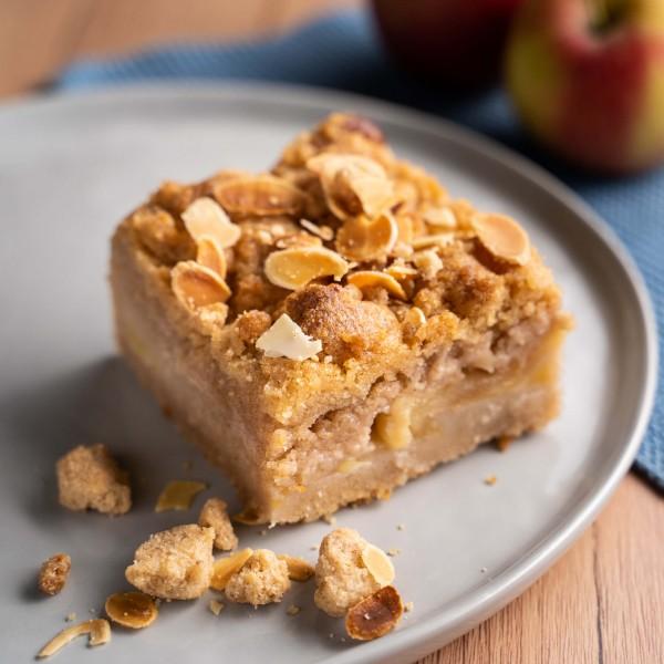 Apfelstreusel Kuchen (vegan)