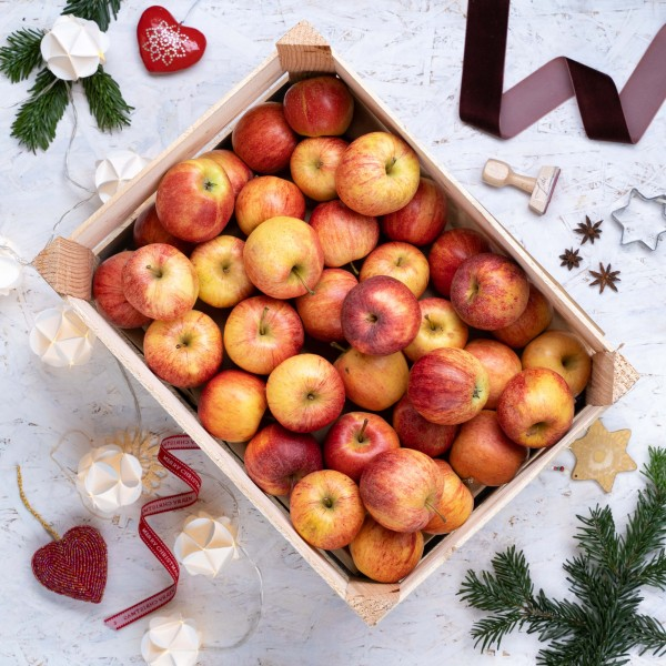 Apfel Kisten