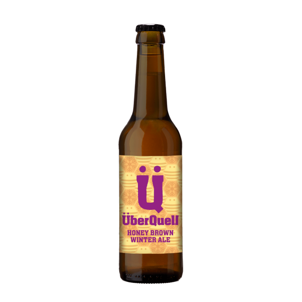 ÜberQuell Honey Brown Winter Ale