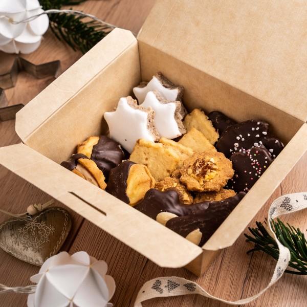 Winter Kekse, mittlerer Mix