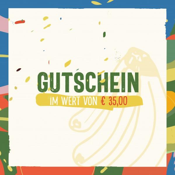 Gutschein 35 Euro