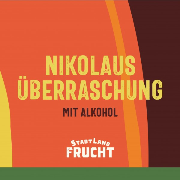 Nikolaus Überraschung, mit Alkohol