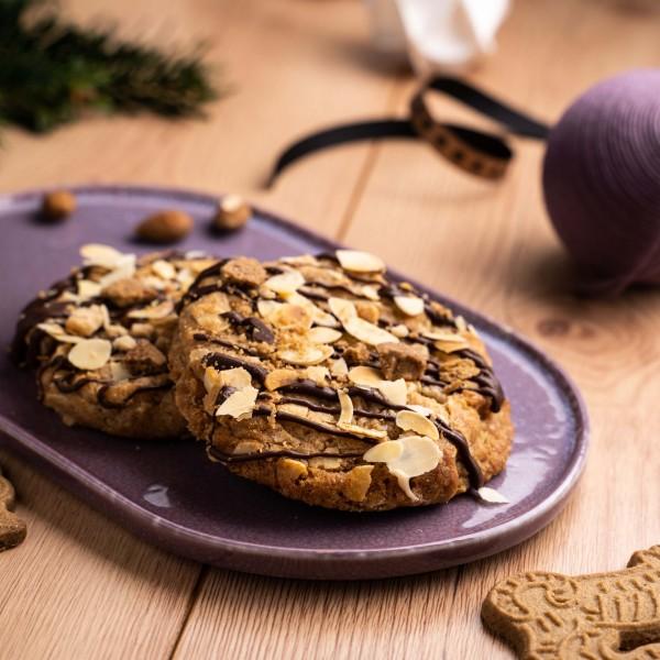 """Cookies """"Winter-Stadt"""" (vegan)"""