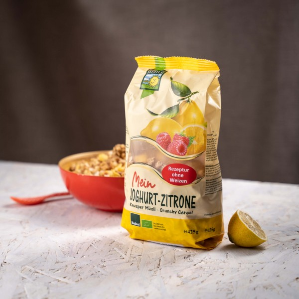 Joghurt Zitrone Knusper Müsli (Bio), 425g