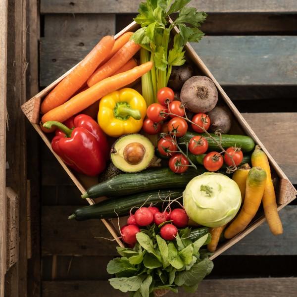 Mittlere Gemüsekiste