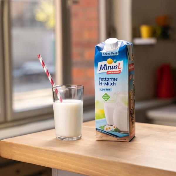 Fettarme H-Milch MinusL 1,5%