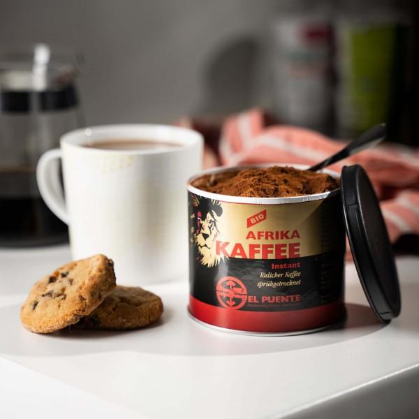 Instant Afrika-Kaffee Dose (Bio), 100g