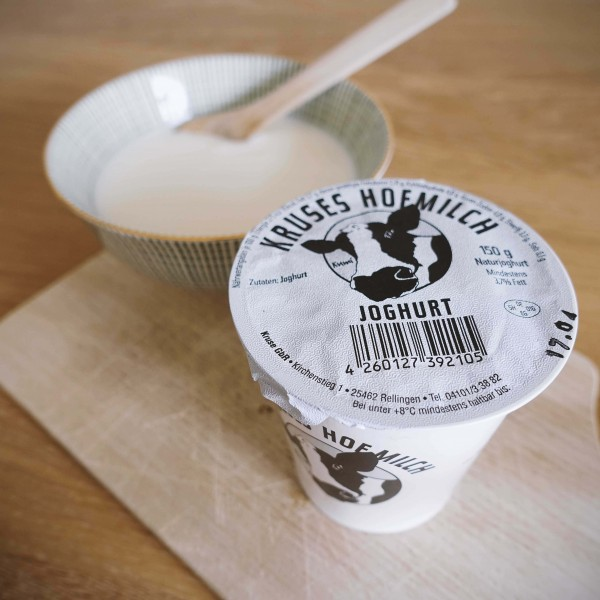 Joghurt Natur (3,7% Fett), 150g Becher