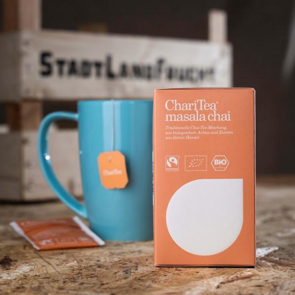 ChariTea masala chai (Bio)