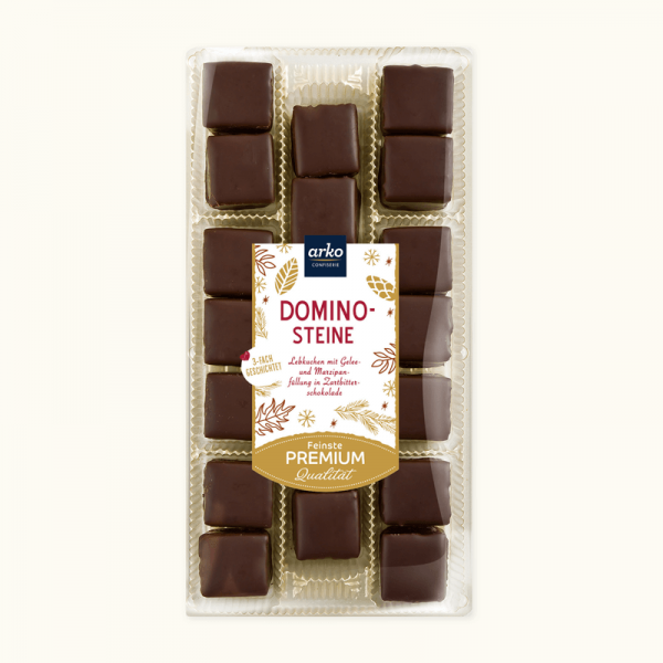 Dominosteine Zartbitterschokolade